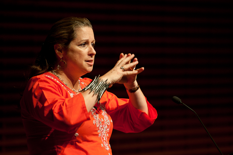 Abigail Disney Lecture at Stanford University